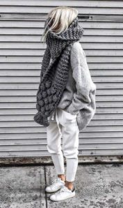 Casual Winter Layering