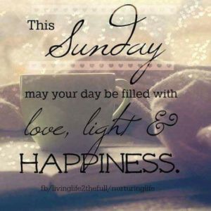 Happiness Sunday Quotes