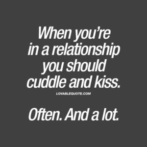Relationship kiss quote