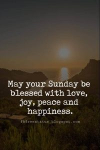 Joyful Sunday Quotes