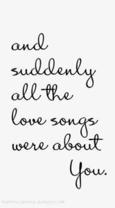 Love Songs Wedding Quotes
