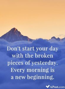 Morning Beginnings Quotes
