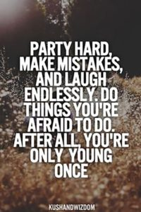Party Hard Quotes