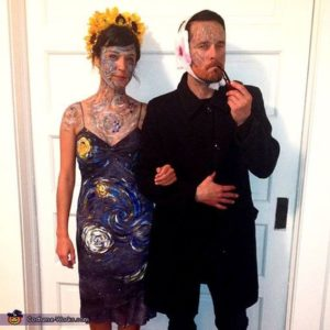 Picasso and The Starry Night halloween costume