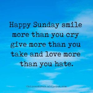 Smile Sunday Quotes