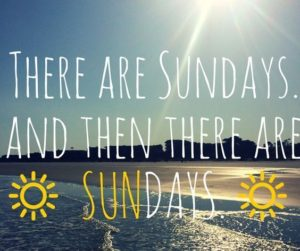 Sunny Sunday Quotes