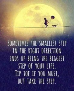 The Smallest Step quote
