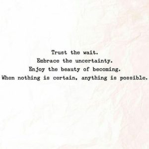 Trust Beginnings Quotes