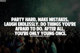 Young Party Quotes