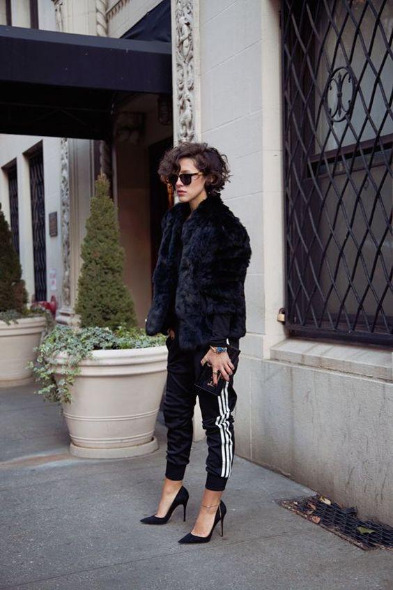 fur and heels