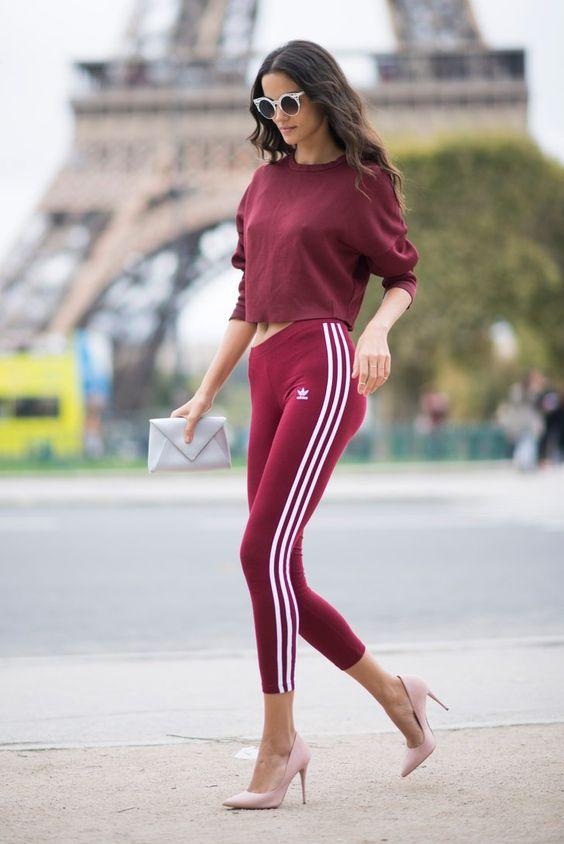 adidas heels burgundy