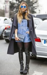 trendy overall outfit