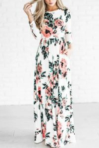 bridal shower maxi