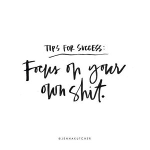 focus on you quote