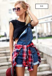 easy overall outfit