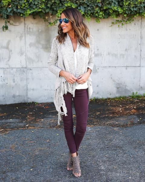 spring legging outfit