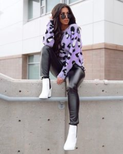 trendy booties outfit
