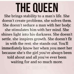 Be A Queen Quotes