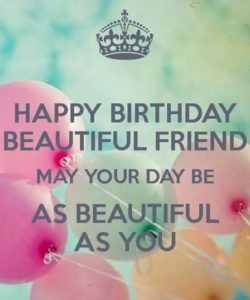 Beautiful Best Friend Birthday Quotes