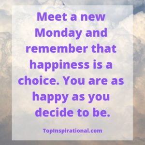 Beautiful Monday Quotes