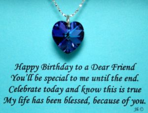 Blessed BFF Birthday Quotes