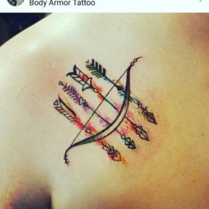 Bows And Arrows Tattoos