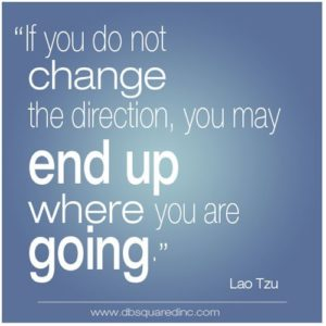 Change Direction Quotes