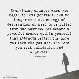 Change Love Yourself Quotes
