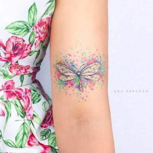 Color Girly Tattoos