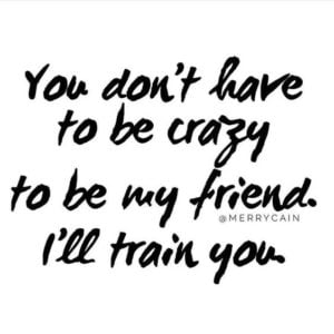 Crazy Funny Friend Quotes