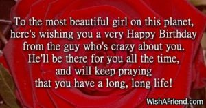 Crazy Love Birthday Quotes