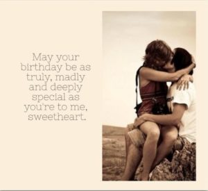 Deep GF Birthday Quotes