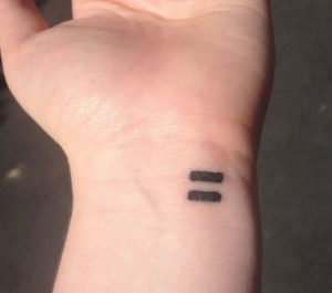 Equality Feminist Tattoos