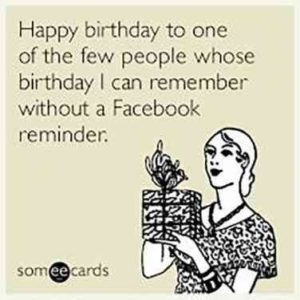 Facebook Birthday Quotes