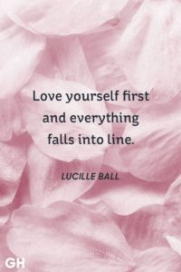 First Love Yourself Quotes
