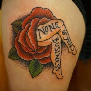 Flower Feminist Tattoos