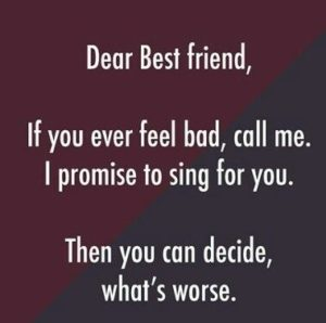 Great Funny Friend Sayings