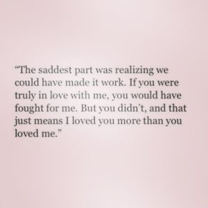 Great Sad Love Quotes
