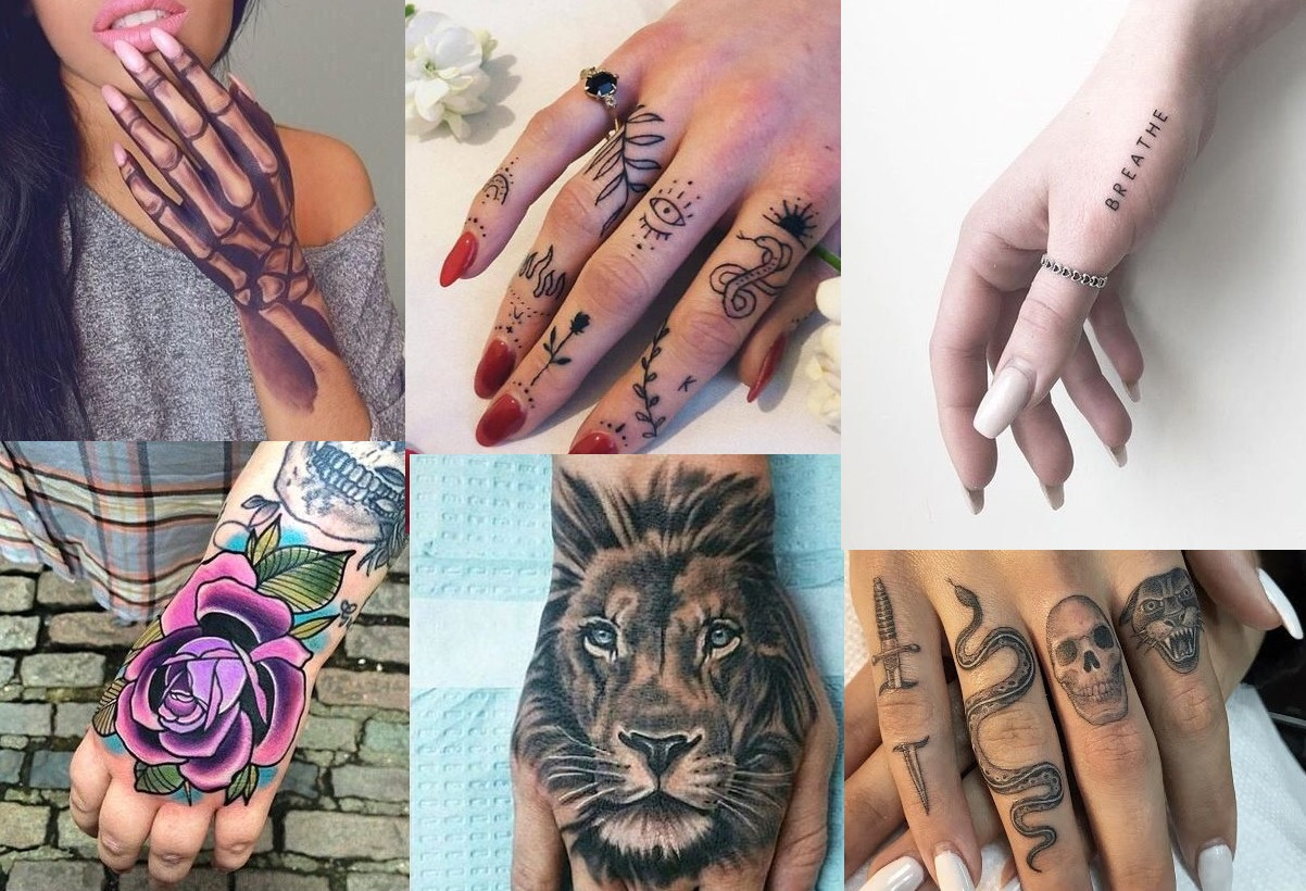 35 Hand Tattoos For Women Cute Tattoos For Girls On Hand