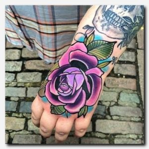 Colourful Japanese Inspired Rose