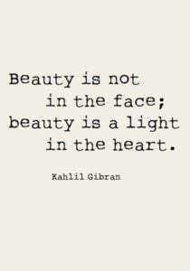 Internal Beauty Quotes