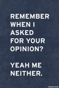 Love Opinion Quotes