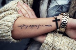 Lovely Quote Tattoos
