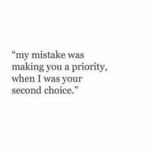 Mistakes Love Quotes