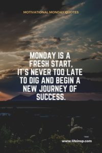 Monday Success Quotes
