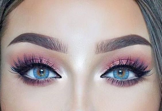 Pink Eye Makeup Looks
