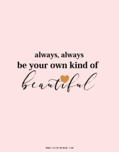 Positive Girl Quotes