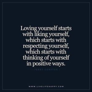 Positive Love Yourself Quotes