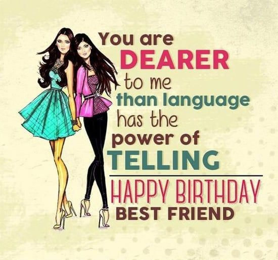 Awe Inspiring Happy Birthday Quotes For Best Friend Personalised Birthday Cards Paralily Jamesorg