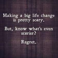 Regret Change Quotes